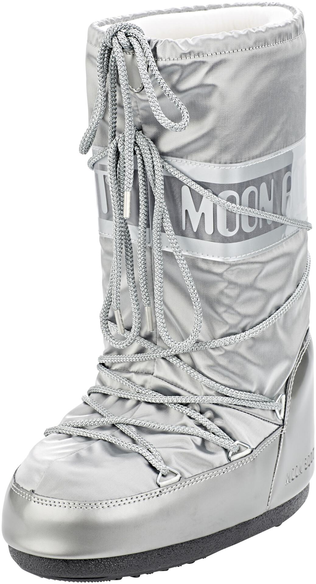 Boot Mujer Botas Moon Glance Plateado LjAR543q